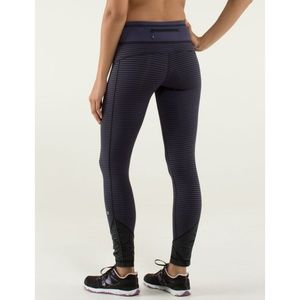 Lulu Pace Queen Tights Stripe Cadet Blue Skinny 2
